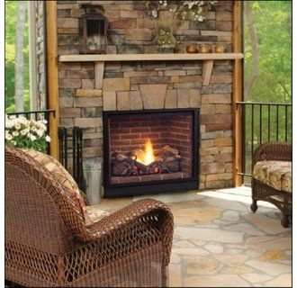 Gas Fireplace From Majestic 39 S Solitaire Collection Fetching Fireplaces Pinterest