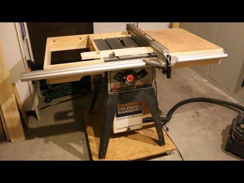 Diy Dust Collector For Older Craftsman Tablesaw Project Youtube Craftsman Table Saw Shop Dust Collection Dust Collector