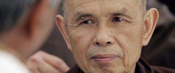 Thich Nhat Hanh Suffers Brain Hemorrhage, Signals Recovery