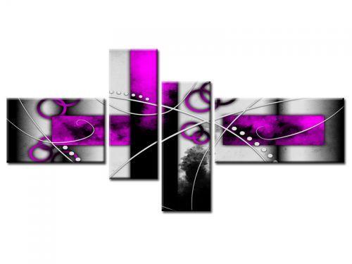 Tableau en 4 parties dimensions 200x100 cm tableau toile for Tableau en 3 parties