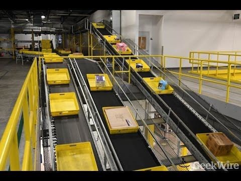 78 Cyber Monday At Amazon S 1 Million Square Foot Fulfillment Center In Dupont Wash Youtube Fulfillment Center Fulfillment Amazon Fulfillment Center