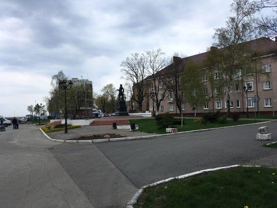 Петр Первый издалека. Фото: Vladimir Shveda