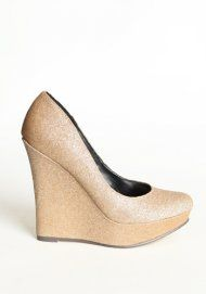 Fantasy Land Glitter Wedges:  Geta,  Patten