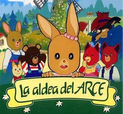 La aldea del arce fue una serie de dibujos animados muy popular entre los que crecimos en los 80.
