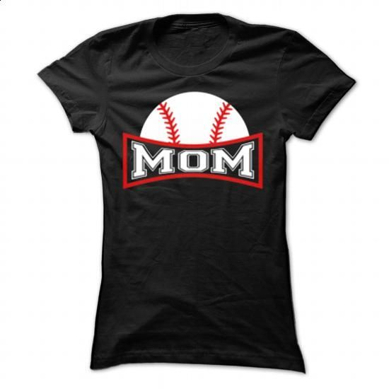 Baseball Mom - #plain t shirts #mens hoodie. ORDER HERE => https://www.sunfrog.com/LifeStyle/Baseball-Mom-80468770-Ladies.html?id=60505