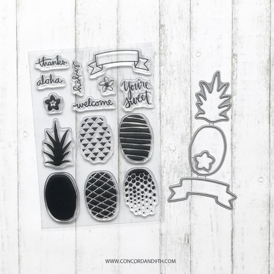 Pop Art Pineapple BUNDLE - Concord & 9th