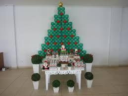 Resultado de imagem para decoração natal rapida e pratica para escola