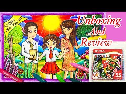 Menggambar Tema Kartini Review Dan Unboxing Greebel Youtube