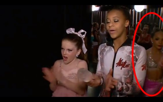 """After rewatching the last episode, I realized how scripted and badly edited this whole thing was. After Mackenzie finished dancing, Tea and Nia were cheering in the wings then out popped Maddie-- not to mention, fully dressed in costume before Abby's """"plan"""" was announced."""
