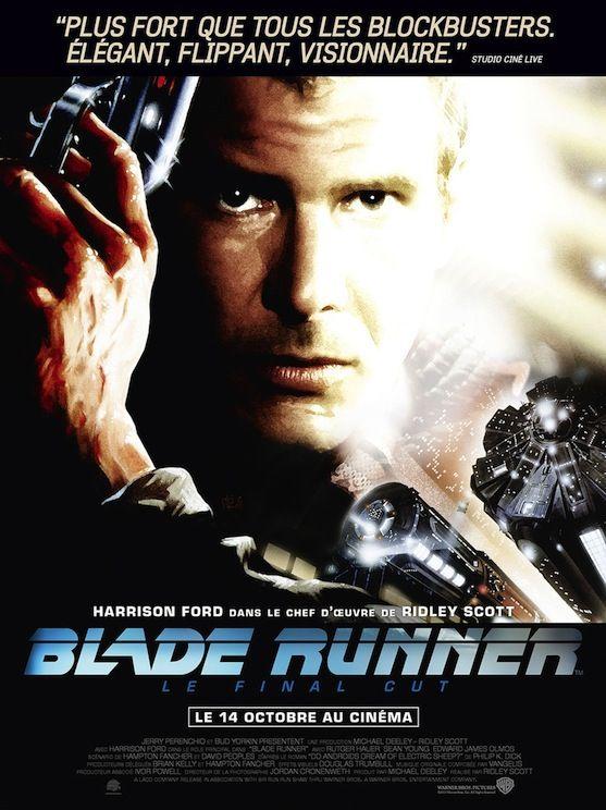 Critique de Blade Runner (Final Cut) qui ressort en salles en version restaurée le 14 octobre 2015 via Warner Bros
