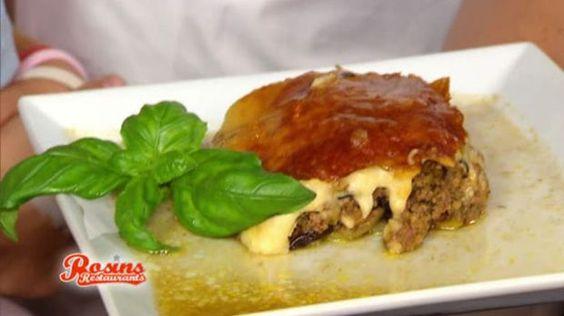Das Lieblingsgericht der Griechen. Was die Lasagne für den Italiener ist, ist Moussaka für den Griechen. Von Frank Rosin neu gekocht. Lecker - garantiert