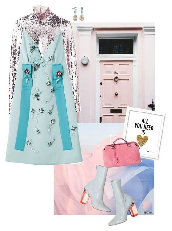 """""""Colour statement"""" by jckyleeah ❤ liked on Polyvore featuring women's clothing, women's fashion, women, female, woman, misses, juniors and pastel"""