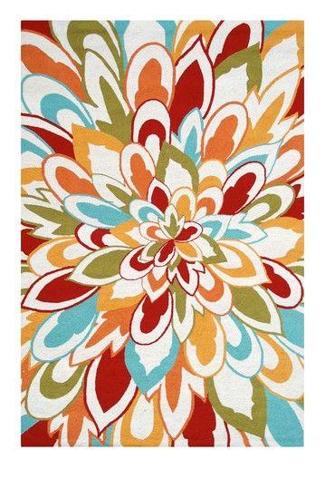 Outdoor Rug Deals  Bloom Rug - Multi  $450.00  This is nicer than my indoor rug.
