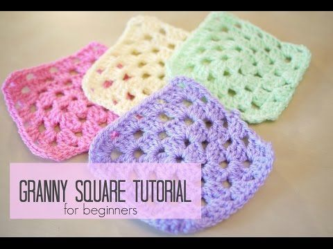 CROCHET: How to crochet a granny square for beginners | Bella Coco - YouTube