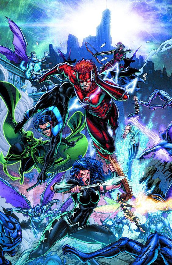 DC Comics revela capas das HQs que publicará em outubro de 2016! - Legião dos Heróis