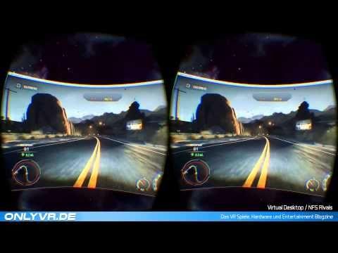 Need For Speed Rivals  Virtual Desktop (VR / Oculus Rift) #vr #virtualreality #virtual reality