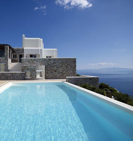 Villa mise à disposition par la conciergerie de luxe Magnificent à Mykonos