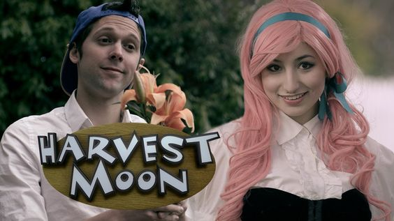 Harvest Moon: The Movie (Trailer) [so many funny in-jokes if you've played the games...that's always what i pictured happening too if you gave someone something they hated. -jl-]