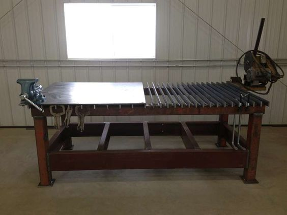 Viewing A Thread New Welding Table Pics Welding Table Table Welding Design