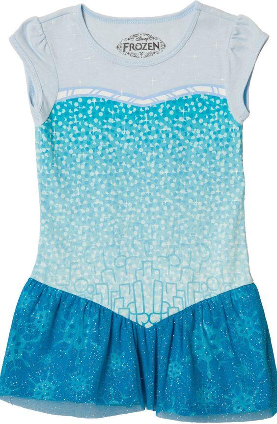 Frozen Elsa Costume Tunic: