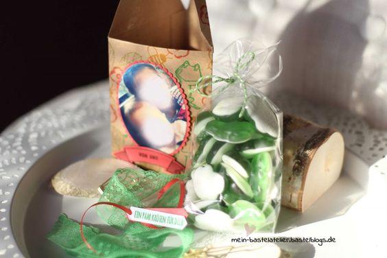 Kröten Geldgeschenk Fotos für Opa Enkelkinder Verpackung Stampin Up