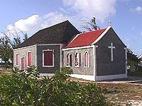 Salt Cay church