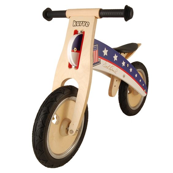 Training bike, Wood, Evel Knievel