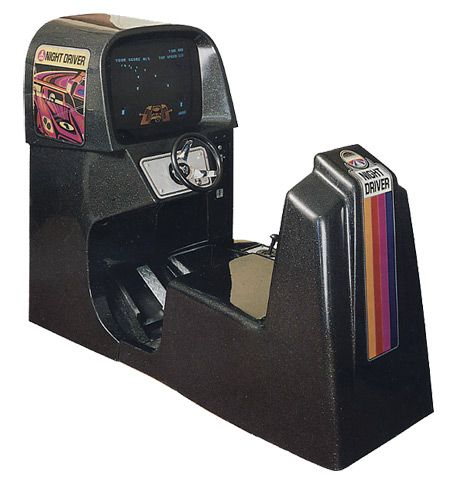 nightdriver arcade cabinet