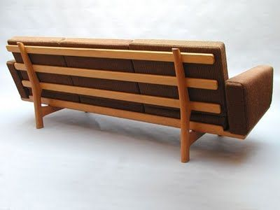 Freak Hänsen-Mid Century Scandinavian Furniture: RETROVISOR-HANS WEGNER GETAMA SOFA 4 PLACES- IN FREAK HANSEN