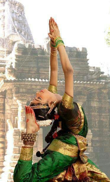 Bharatnatyam dancer