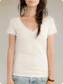 I can never have too many white V-necks. <3
