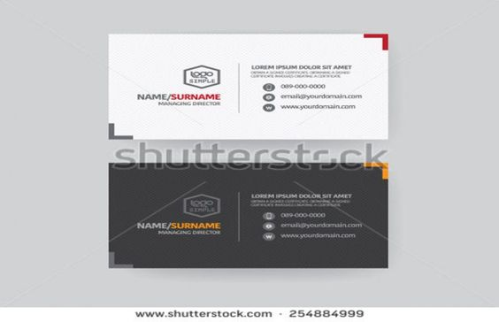 Best Designed Business Card Templates Best Designed Business - name card format