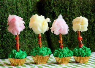 the lorax cupcakes!