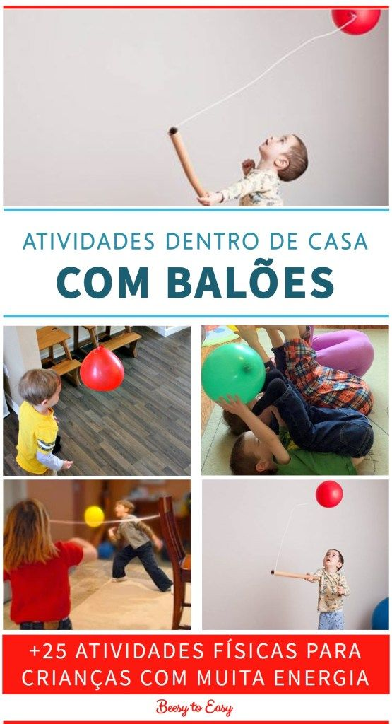 25 Atividades Fisicas Dentro De Casa Para Criancas Com Muita