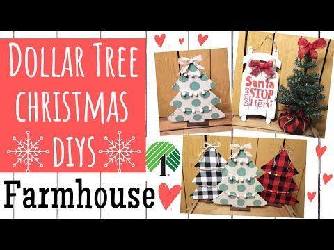 Dollar Tree Diy Easy Farmhouse Christmas Decor I Made Buffalo Check Buffalo Check Chris In 2020 Fall Decor Dollar Tree Dollar Tree Decor Dollar Tree Diy Crafts