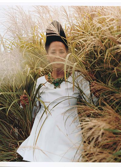 of china machado by bruce weber for w mag