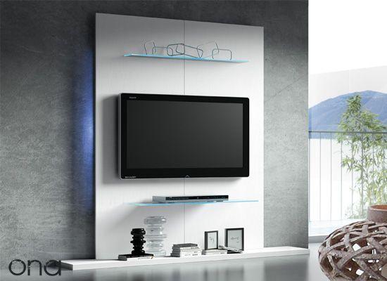 Paneles tv el panel tv es un nuevo mueble de pared para tu - Tv en la pared ...