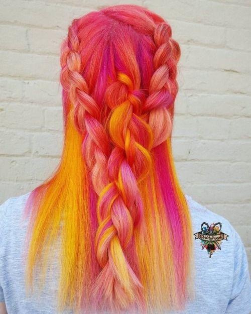 En İyi Saç Rengi Fikirleri: RENKLİ SAÇ BLOGU