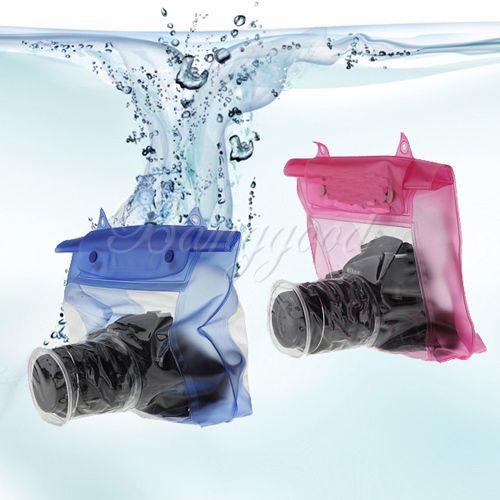DSLR SLR Camera Waterproof Underwater Housing Case Pouch Dry Bag for Canon Nikon   eBay