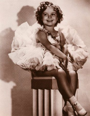 Shirley Temple Flower Girl Inspiration