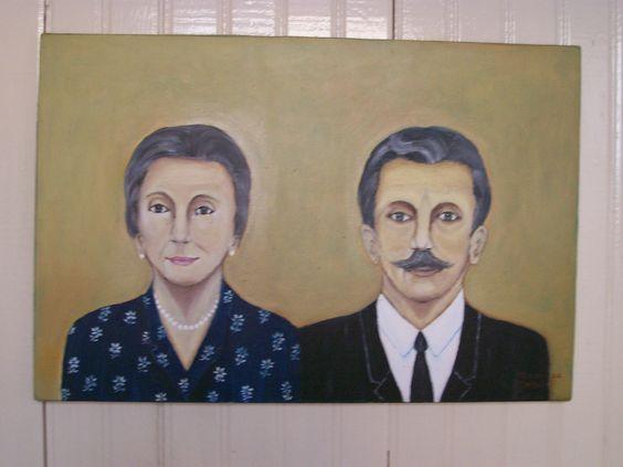 Meus Pais, Maria Armiliatto Zamuner e Santo Zamuner