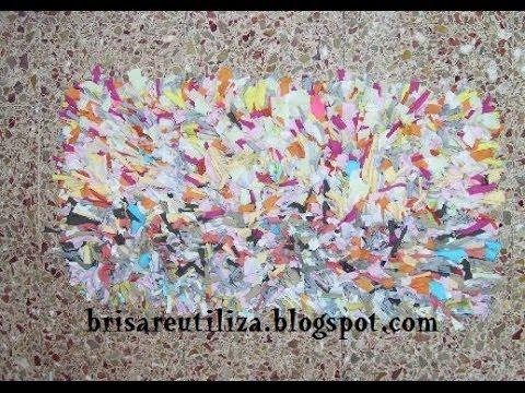 Diy rug. Reciclaje de ropa vieja para hacer una alfombra. ----------------------------------------------- Suscríbete: http://bit.ly/10DWTfP -----------------...