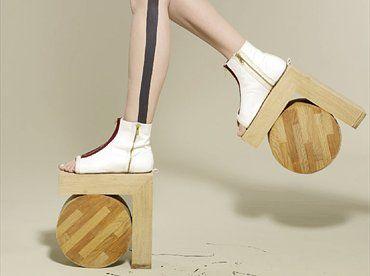 Benoit Meleard rolly shoes