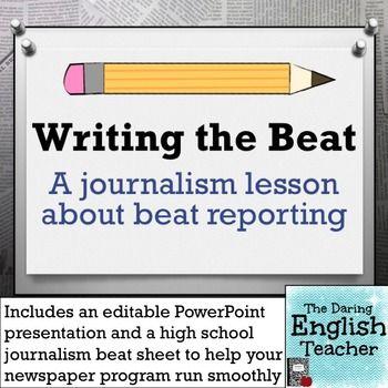 Journalism subjects in school