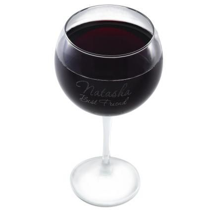 Connoisseur Red Wine Glass: $12.95 #Wedding #Bridesmaid