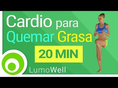 Rutina para bajar de peso 20 minutos de cardio