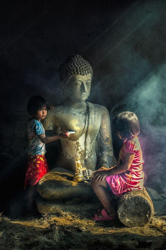 Little Buddhist by wichan sumalee
