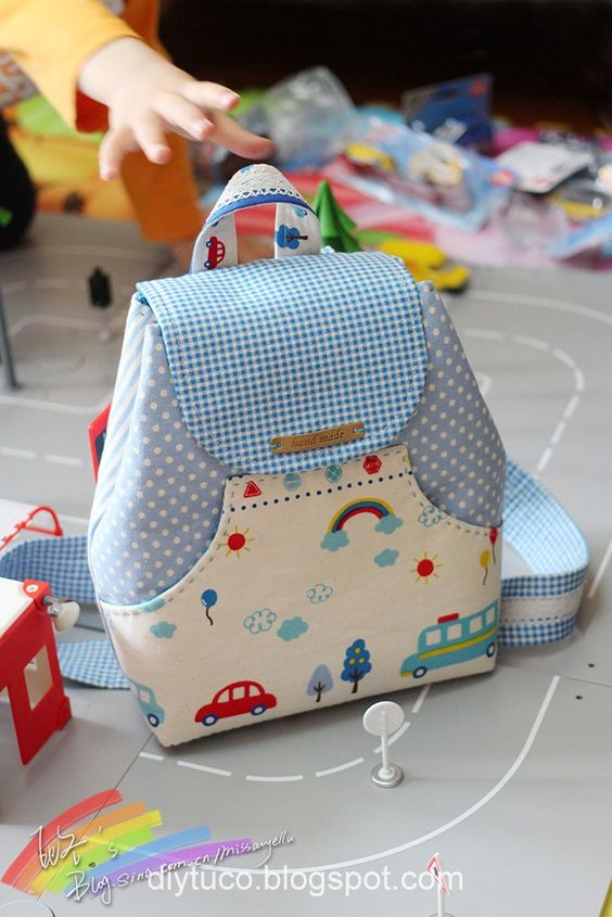 Diy Tutorials Collection: Tutorial: How to make a small children backpack