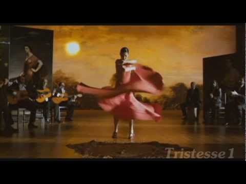 """Sensual, Passionate Flamenco  from Spain (with Joaquín Pedraja Reyes """"Joaquín Cortés"""" (born 22 February 1969) is a classically trained ballet and flamenco dancer from Spain of Romani origin.)"""