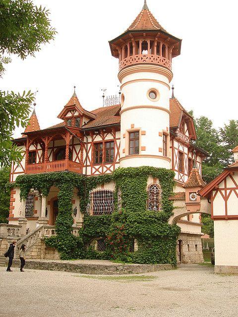 A charming little castle in Herrsching, Bavaria...